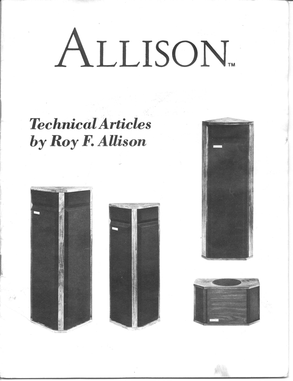 Allison front cover