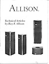 Technical Articles by Roy F. Allison pg1