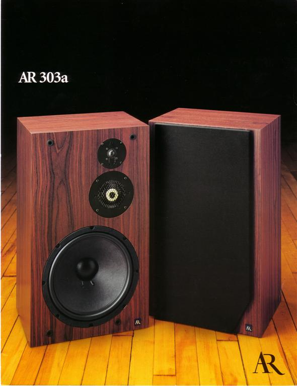 AR 303a Brochure pg1 | The Classic Speaker Pages