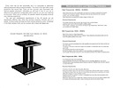 AR303(a) Speaker Stand Manual pg2 & pg3