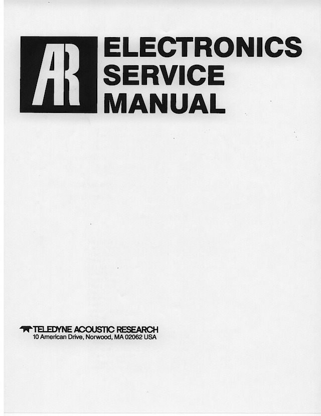 AR_Electronics_Service_Manual_P0