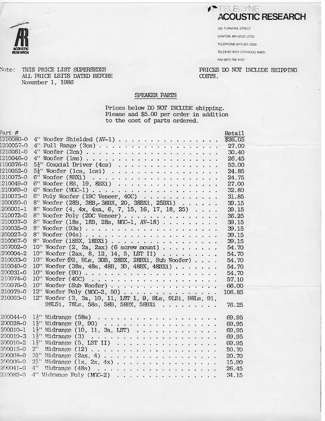 AR Parts Packet November 1 19860002