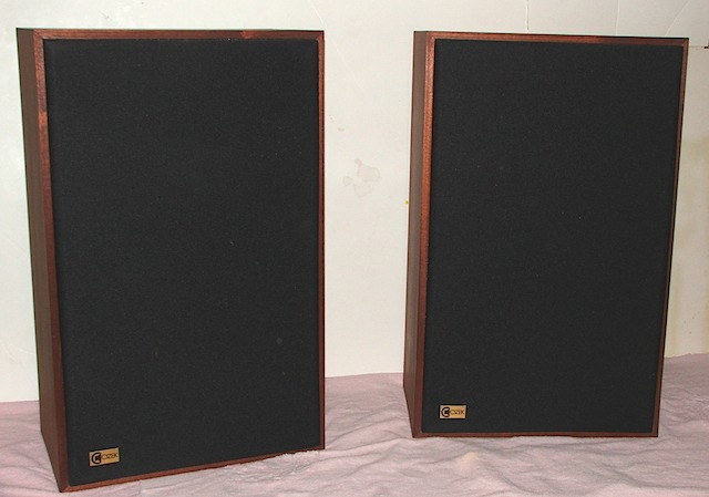 Contact US >> Cizek Model I Front 1 | The Classic Speaker Pages