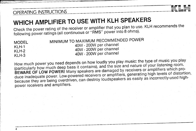 KLH-1 OpGuide P4