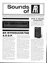 Sounds of AR Newsletter March 1982 pg1