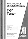 T-04 Tuner Service Manual pg1