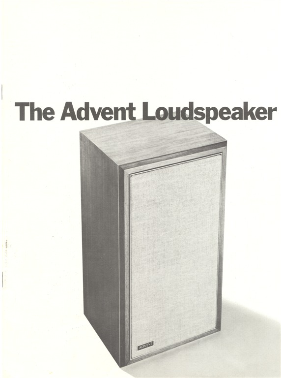 The Advent Loudspeaker pg1 900 (Large)
