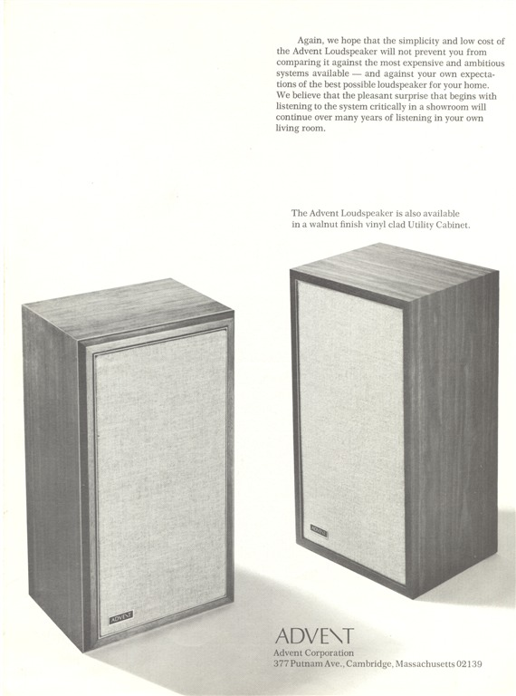 The Advent Loudspeaker pg8 900 (Large)